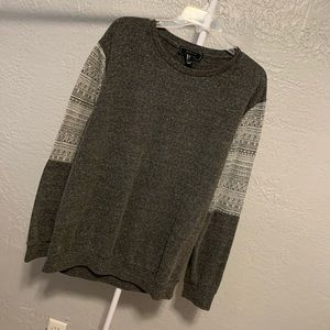 Men's Gray Forever 21 Crewneck Sweater!